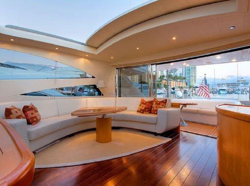 Inside the luxury yacht Barcelona