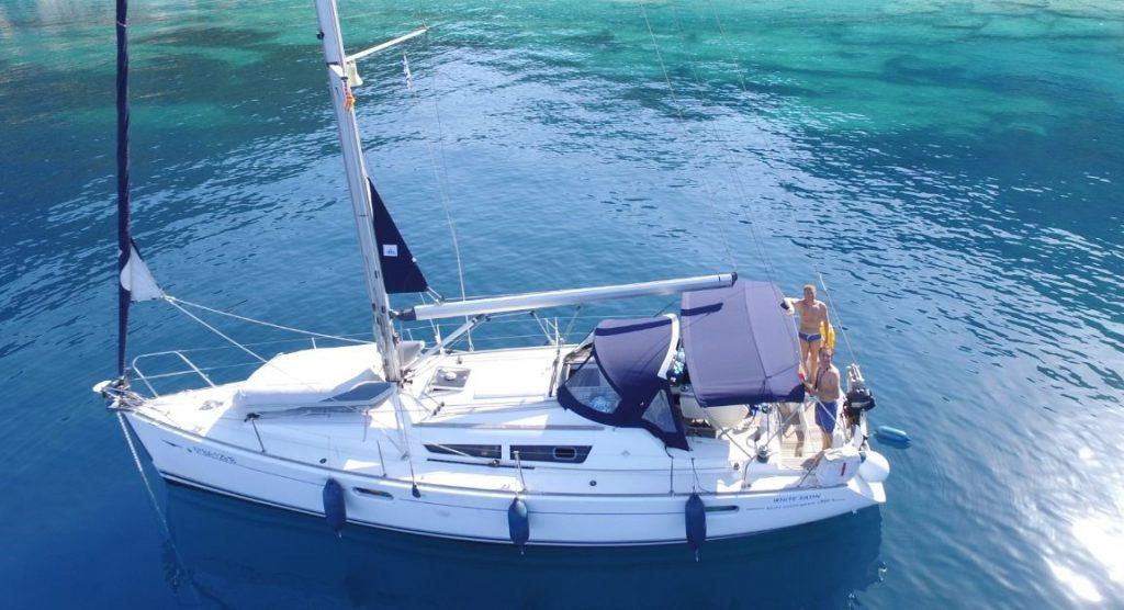 Rent a sailboat Barcelona
